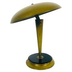 Italian Midcentury Brass Table Lamp, 1960s, Italy