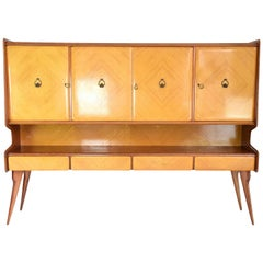 Italian Midcentury Buffet or Credenza in the Manner of Ico Parisi, 1950s