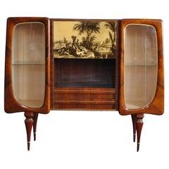 Italian Midcentury Cabinet Bar 50's