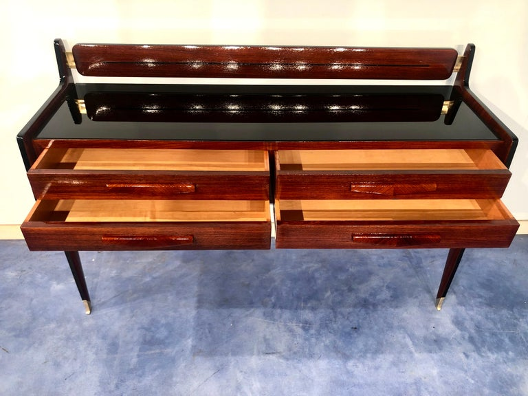 Italian Midcentury Chest of Drawers by Vittorio & Plinio Dassi For Sale 9