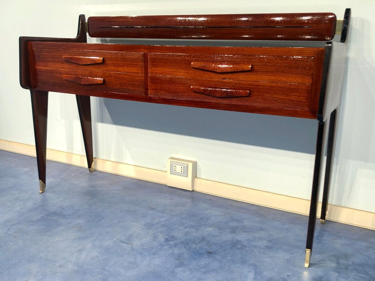 Mid-Century Modern Italian Midcentury Chest of Drawers by Vittorio & Plinio Dassi For Sale