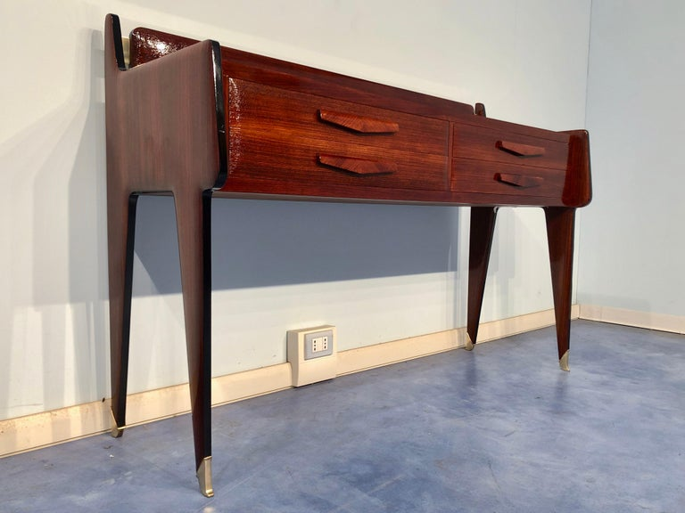 Italian Midcentury Chest of Drawers by Vittorio & Plinio Dassi In Excellent Condition For Sale In Traversetolo, IT