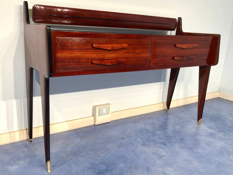 Mid-20th Century Italian Midcentury Chest of Drawers by Vittorio & Plinio Dassi For Sale