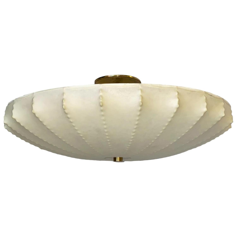 Italian Midcentury Cocoon Light Fixture
