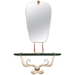 Italian Midcentury Console Table, Colli Design Attributed to Giovanni Gariboldi