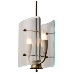 Italian Midcentury Design Light by Pietro Chiesa for Fontana Arte
