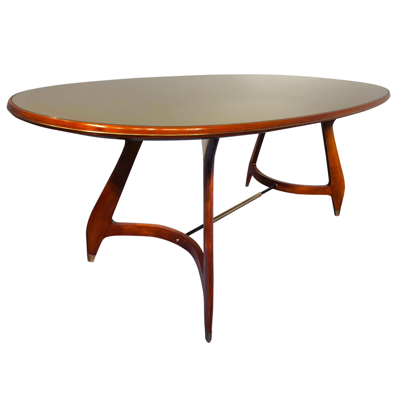Italian Midcentury Dining Table by Augusto Romano, 1950s