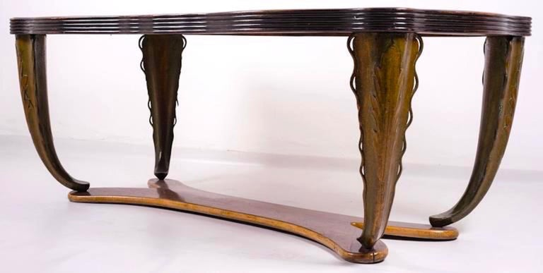 Italian, Midcentury Dining Table by Pier Luigi Colli, 1940 For Sale 4