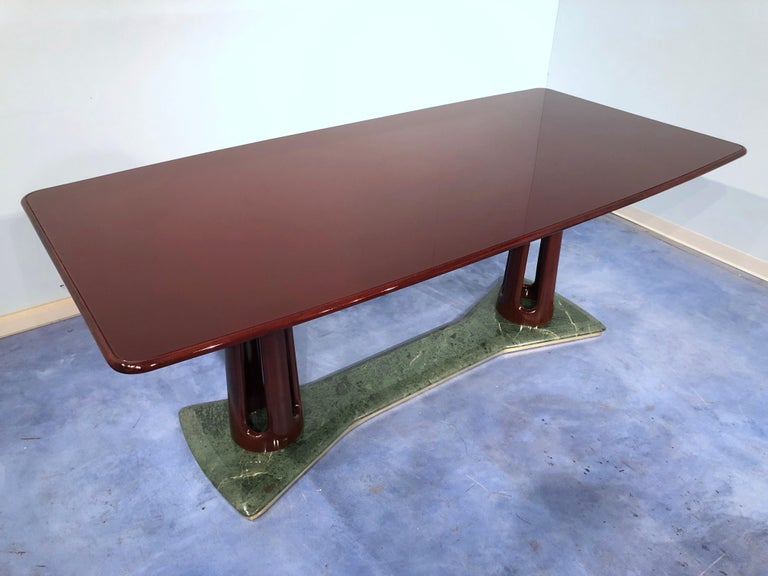 Italian Mid-Century Modern Dining Table by Vittorio Dassi, 1950s In Good Condition For Sale In Traversetolo, IT