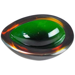Italian Midcentury Empty Pockets 1960s Murano Glass
