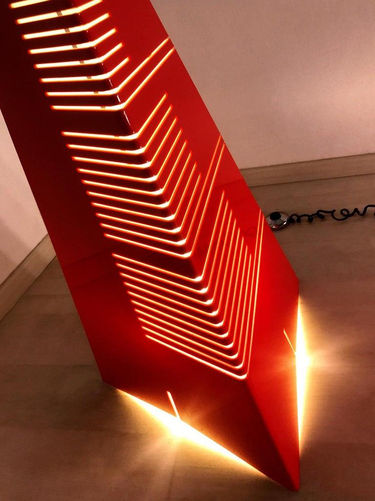 Italian Mid-Century Floor Lamp 'Personaggi' by Enrico Tronconi, 1970s 5