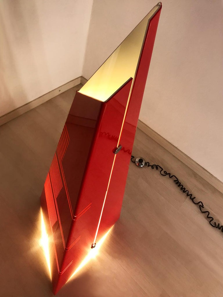 Italian Mid-Century Floor Lamp 'Personaggi' by Enrico Tronconi, 1970s 9