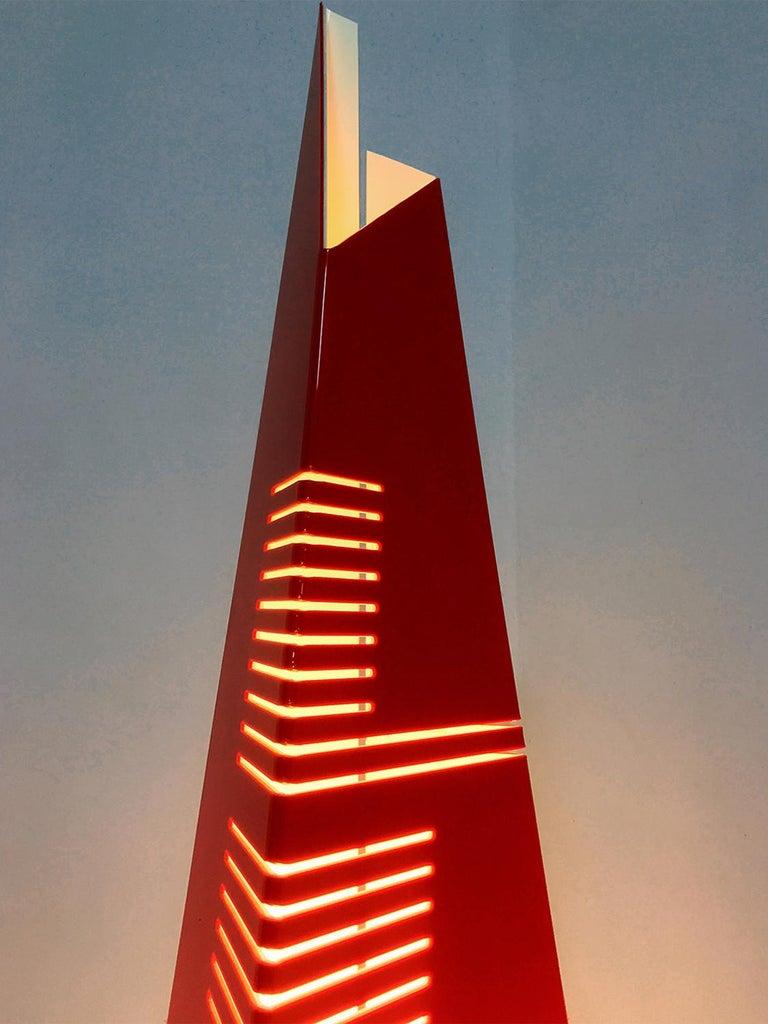 Italian Mid-Century Floor Lamp 'Personaggi' by Enrico Tronconi, 1970s 2