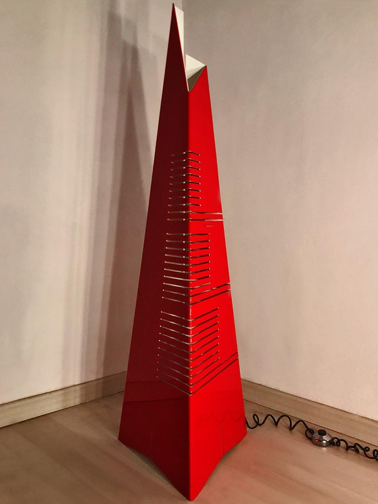 Italian Mid-Century Floor Lamp 'Personaggi' by Enrico Tronconi, 1970s 3