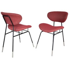 Italian Midcentury Gastone Renaldi Chairs for RIMA, Set of Two, 1950s