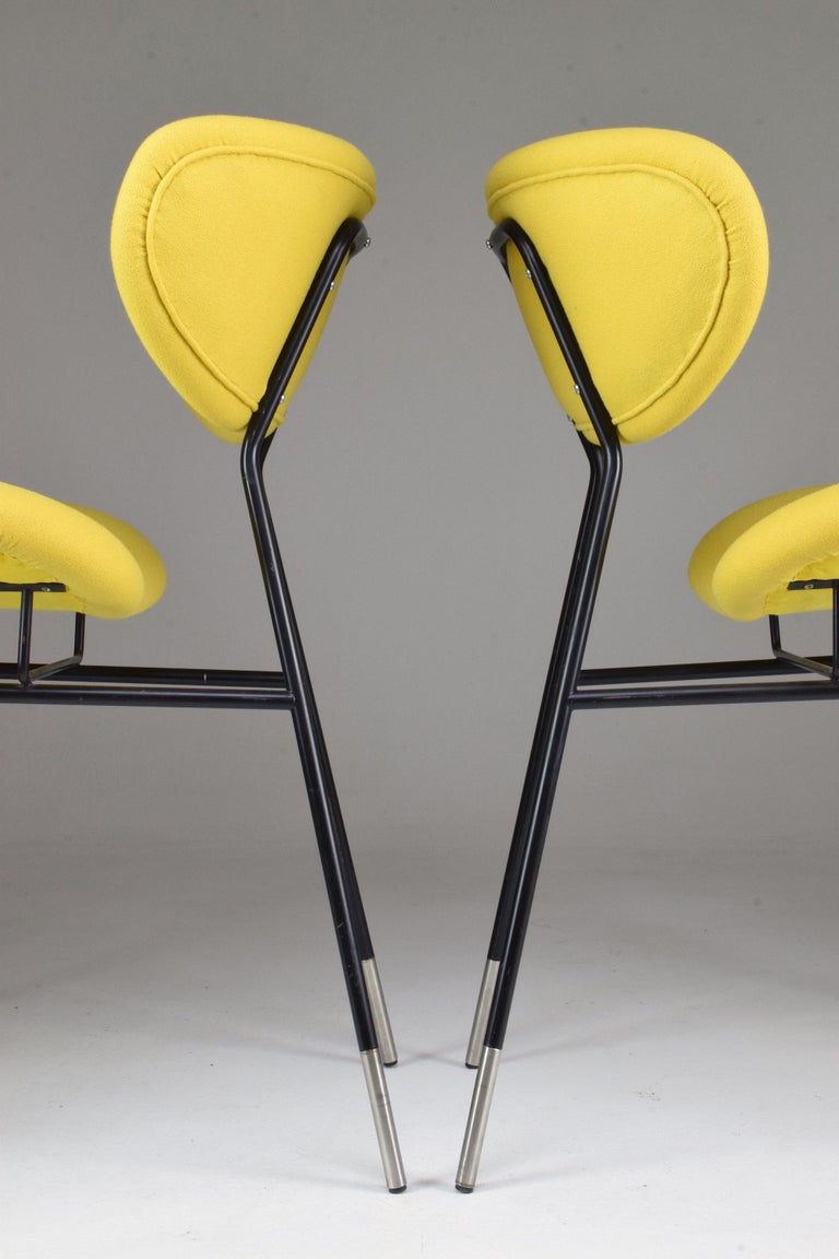 Italian Midcentury Gastone Rinaldi Chairs for RIMA, Set of Two, 1950s For Sale 6