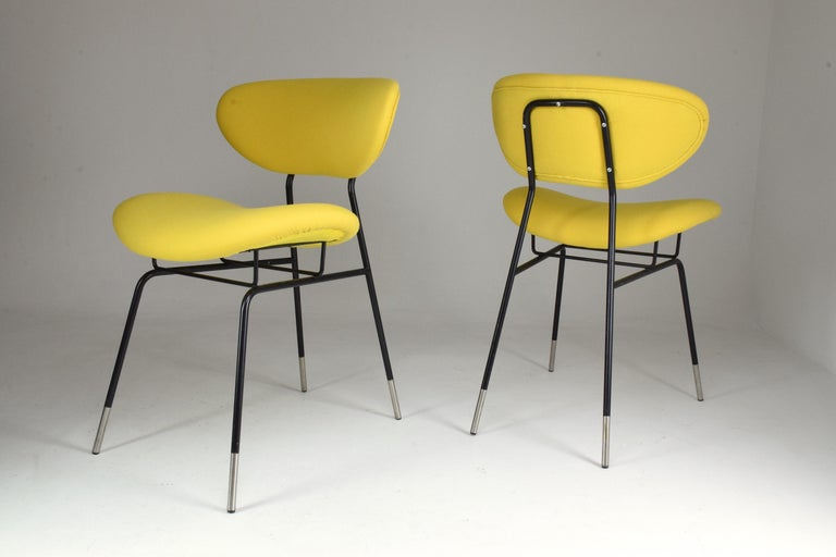 Italian Midcentury Gastone Rinaldi Chairs for RIMA, Set of Two, 1950s In Good Condition For Sale In Paris, FR