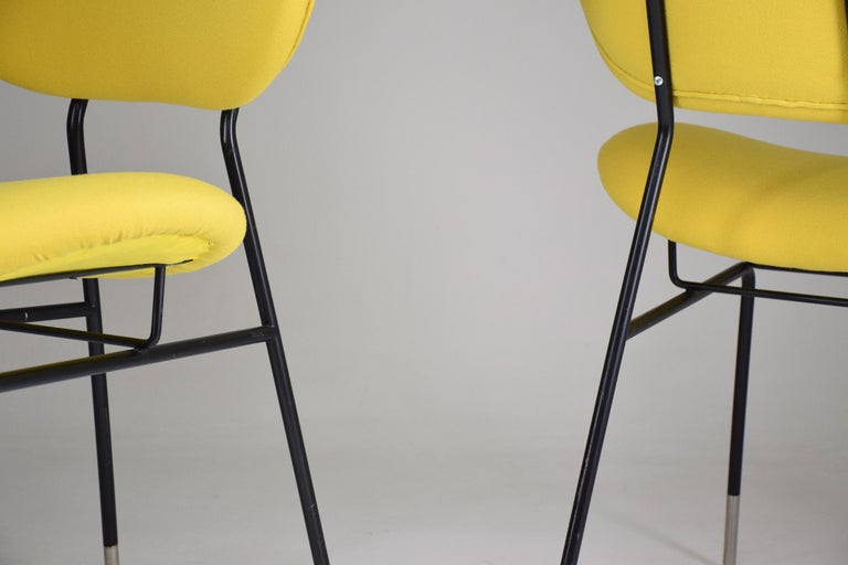 Italian Midcentury Gastone Rinaldi Chairs for RIMA, Set of Two, 1950s For Sale 1