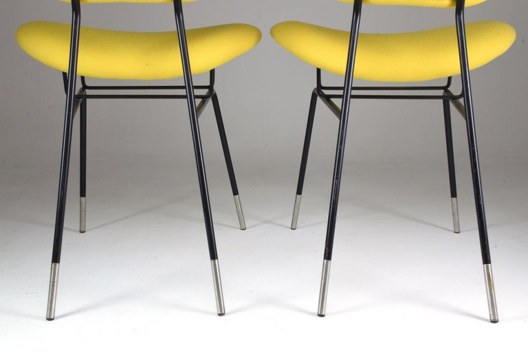 Italian Midcentury Gastone Rinaldi Chairs for RIMA, Set of Two, 1950s For Sale 3
