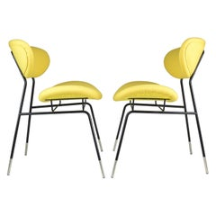 Italian Midcentury Gastone Rinaldi Chairs for RIMA, Set of Two, 1950s