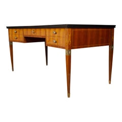Italian Midcentury Imposing Writing Desk Attributed to Paolo Buffa, 1950s