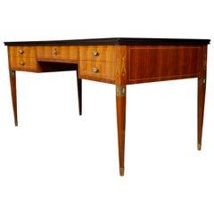 Italian Midcentury Imposing Writing Desk Attributed to Paolo Buffa, 1950s