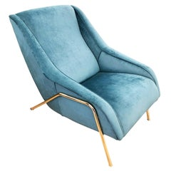 Italian Midcentury Lounge Chair