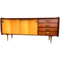 Italian Midcentury Mahogany Sideboard from the 1960s