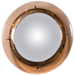 Italian Midcentury Mirror by Cristal Arte
