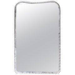 Italian Midcentury Mirror in a Style of Fontana Arte