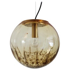 Italian Midcentury Murano Glass Sphere Pendant Lamp by La Murrina, 1970s