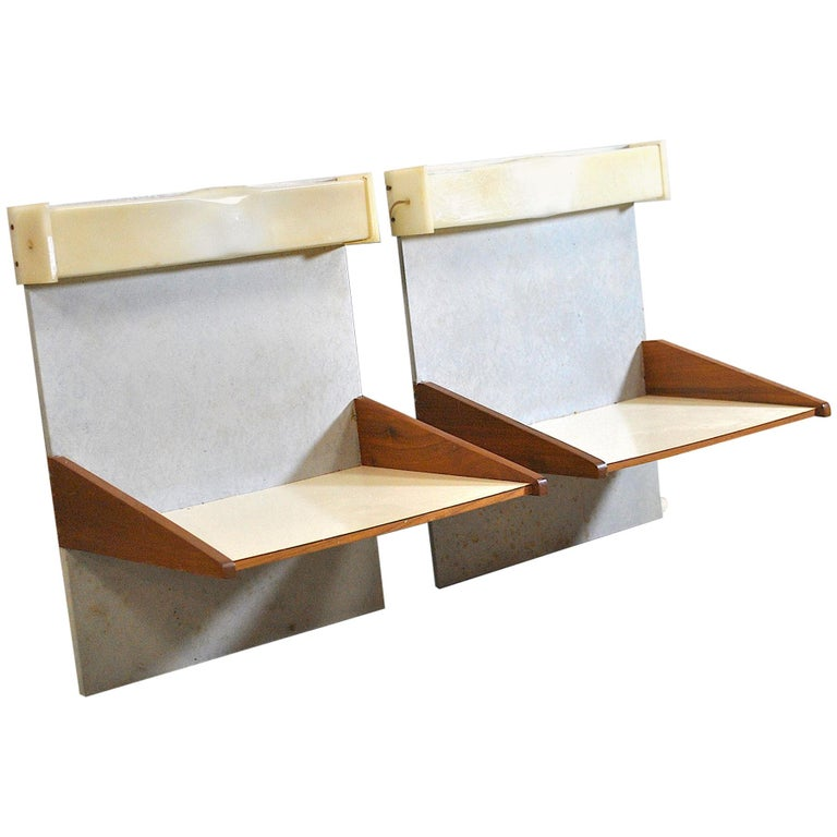 Italian Midcentury Nightstands from the 1960s For Sale