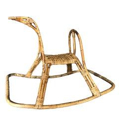 Italian, Midcentury Rocking Horse Sculpture