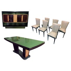 Italian Midcentury Rosewood Dining Room Set by Vittorio Dassi, 1950s