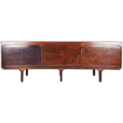 Italian Midcentury Rosewood Rio Sideboard by Gianfranco Frattini for Bernini