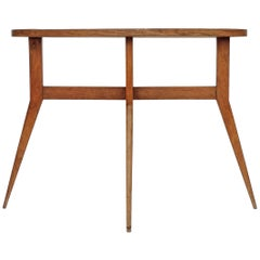 Italian Midcentury Side Table Attributed to Gio Ponti