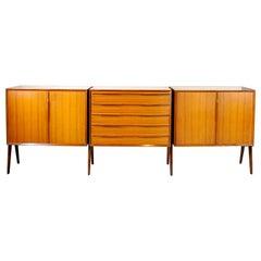 Italian Midcentury Sideboard 1960s Ico Parisi Style