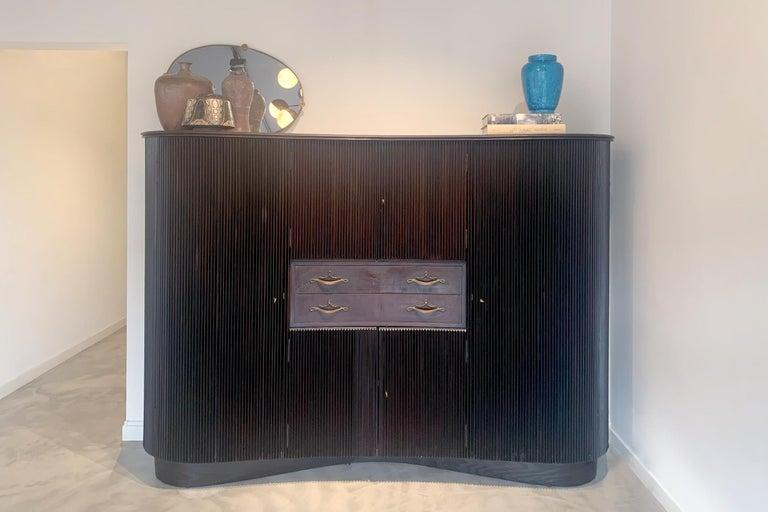 Mid-20th Century Italian Midcentury Sideboard by Osvaldo Borsani For Sale
