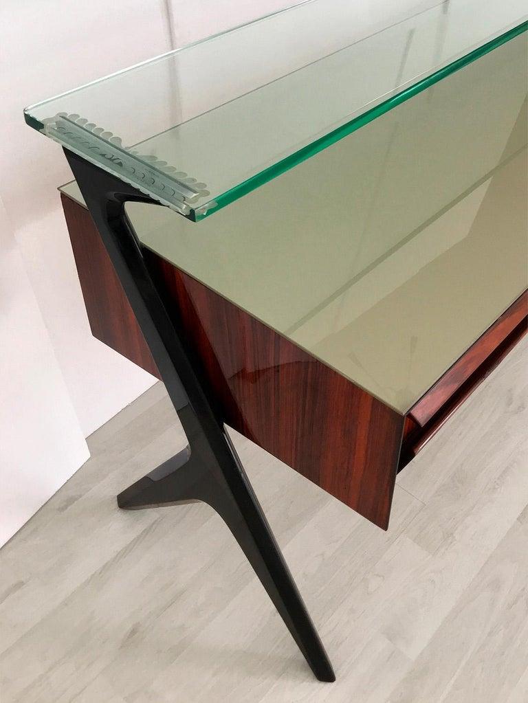Italian Midcentury Sideboard or Vanity Dresser by Vittorio & Plinio Dassi, 1950s For Sale 8