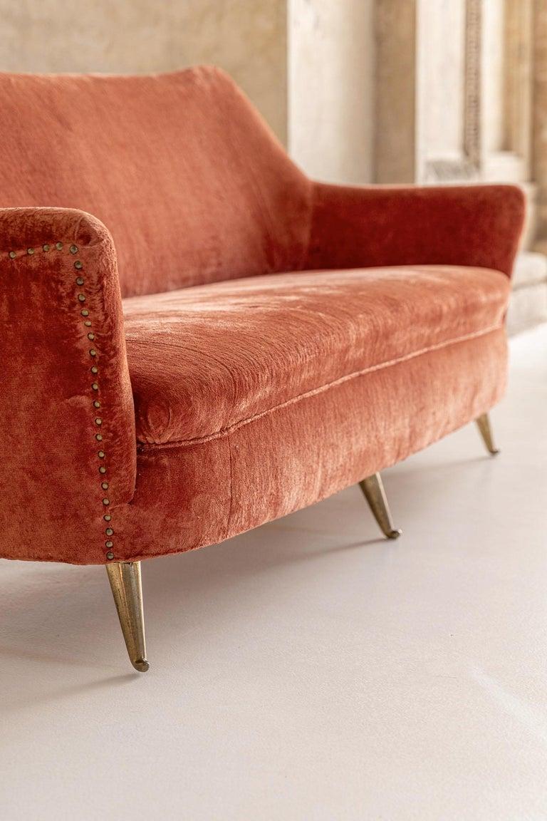 Mid-Century Modern Italian Midcentury Sofa by Isa