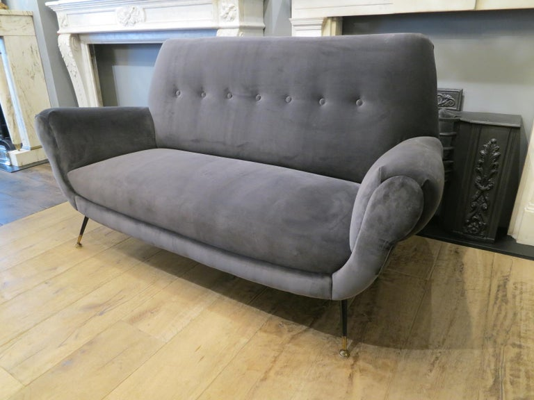 Italian Midcentury Sofa by Minotti