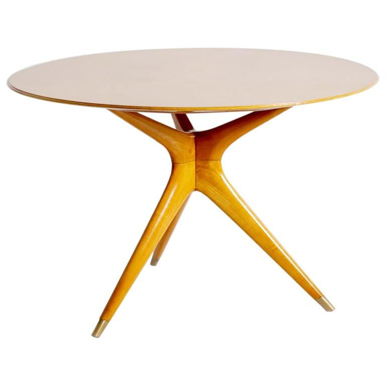 Italian Midcentury Table by Ico Parisi for Fratelli Rizzi, 1950s Published