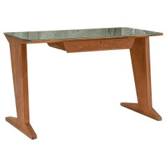 Italian Midcentury Writing Desk Gio Ponti Inspired