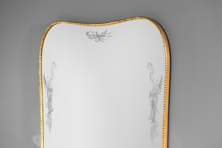 Italian Mirror Console by Pier Luigi Colli, 1960s For Sale 6
