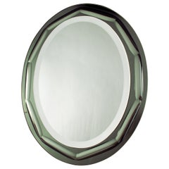Italian Mirror in the Style of Fontana Arte, 1970s