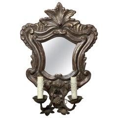 Italian Mirrored Wall Sconce