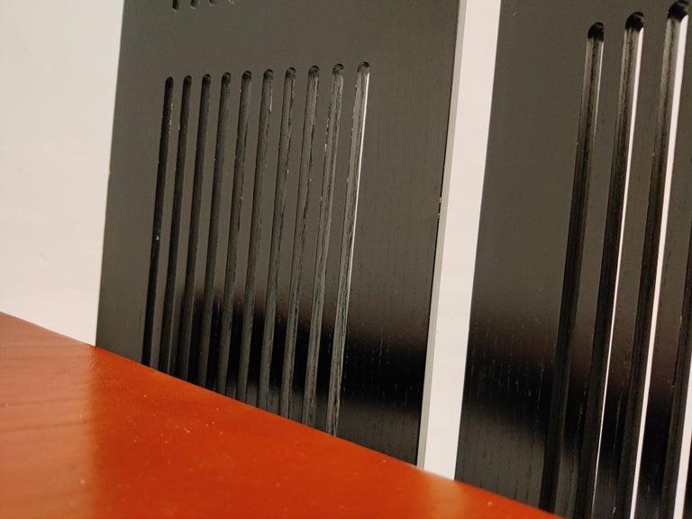 Italian Model Lubekka Dining Chairs by Andrea Branzi for Cassina, 1990s Set of 6 5