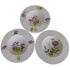 Italian Modern 3 Ernestine Ceramiche Serving Bowls Salerno, Italy, 1950s