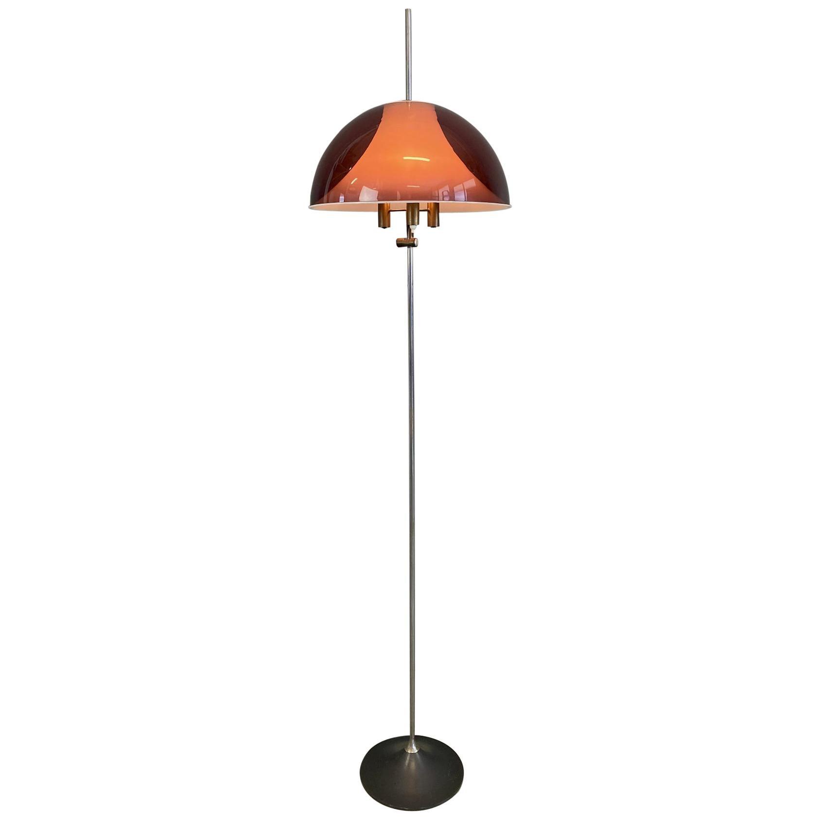 Italian Modern Adjustable Floor Lamp Stilux