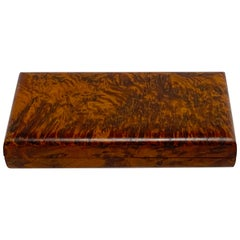Italian Modern Burl Table Box